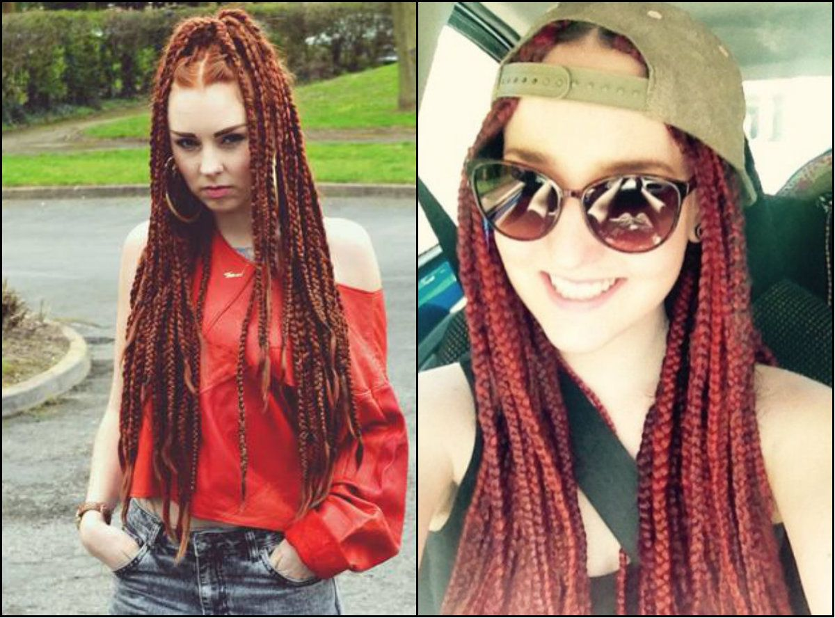 White girl box braids hairstyles to try right away away braids