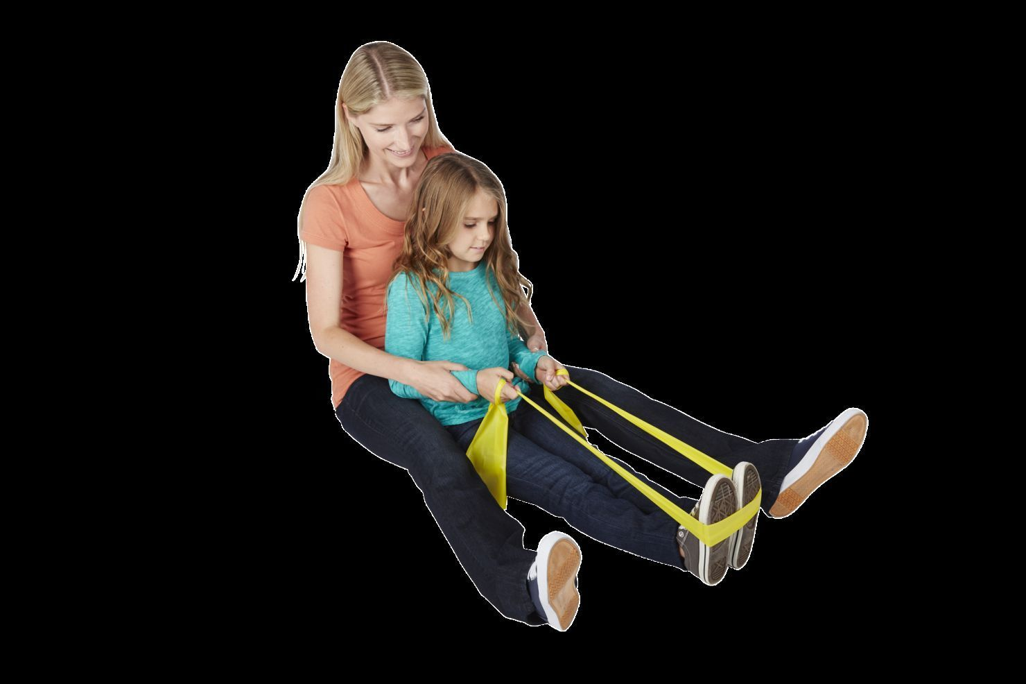 Cando X-Light Exercise Resistance Band Multiple Lengths Yellow  A0028
