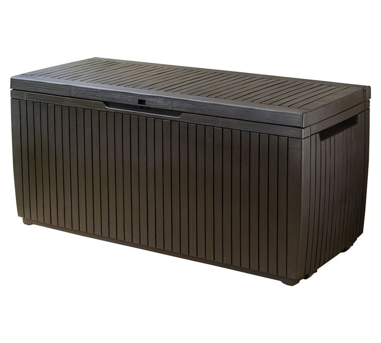 Buy Keter Springwood 305L Garden Storage Box Brown