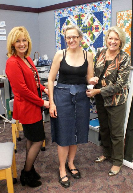 Pati & I fitting a student at the first Palmer/Pletsch East Fit Workshop