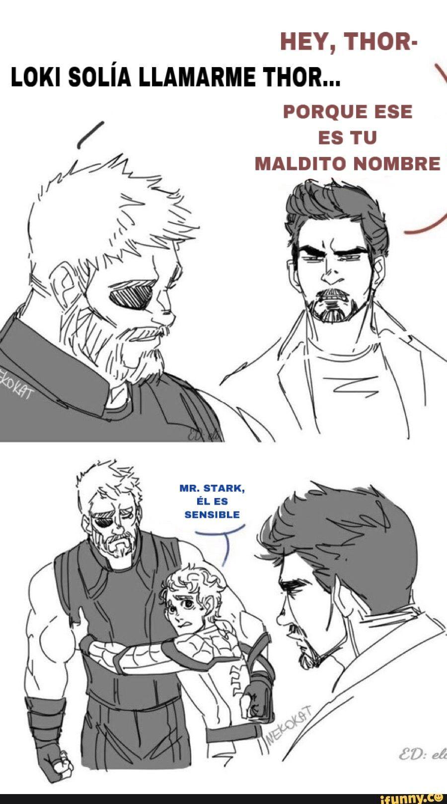 Cómics Thorki y otras cosas Marvel