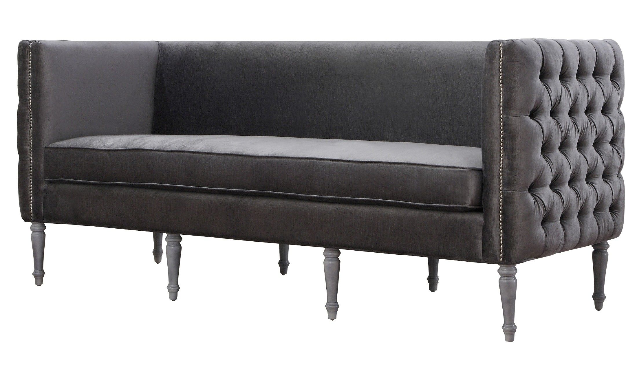 Bold, Boxy And Glamorous, Our Fiora Sofa Is Luxury At Itu0027s Finest. A