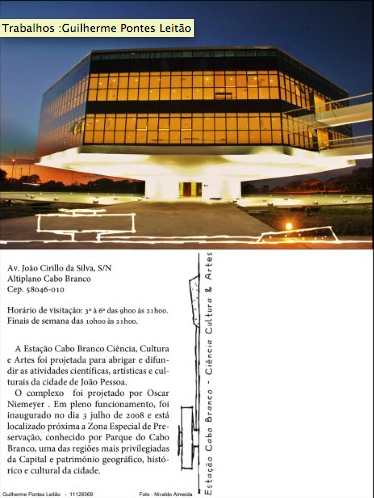 Cartão Postal - Estação Ciências