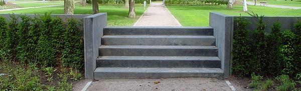 Wonderbaarlijk Betonnen trap in de tuin (met afbeeldingen) | Tuin, Tuintrap, Tuin RC-88