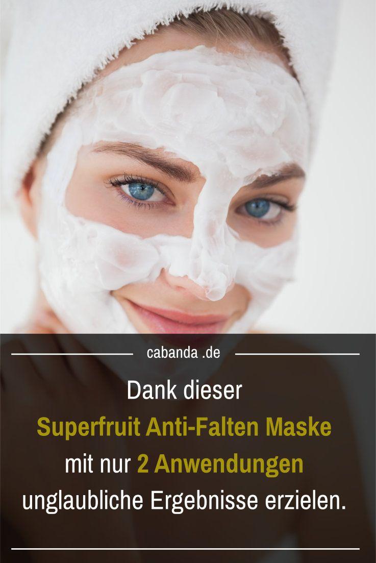 Meine Lieblings-Anti Falten Maske: Dank Superfruit sofort jünger aussehen!
