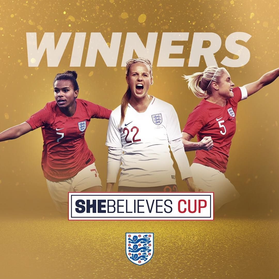 We came here to win.   The 2019 SheBelievesCup winner