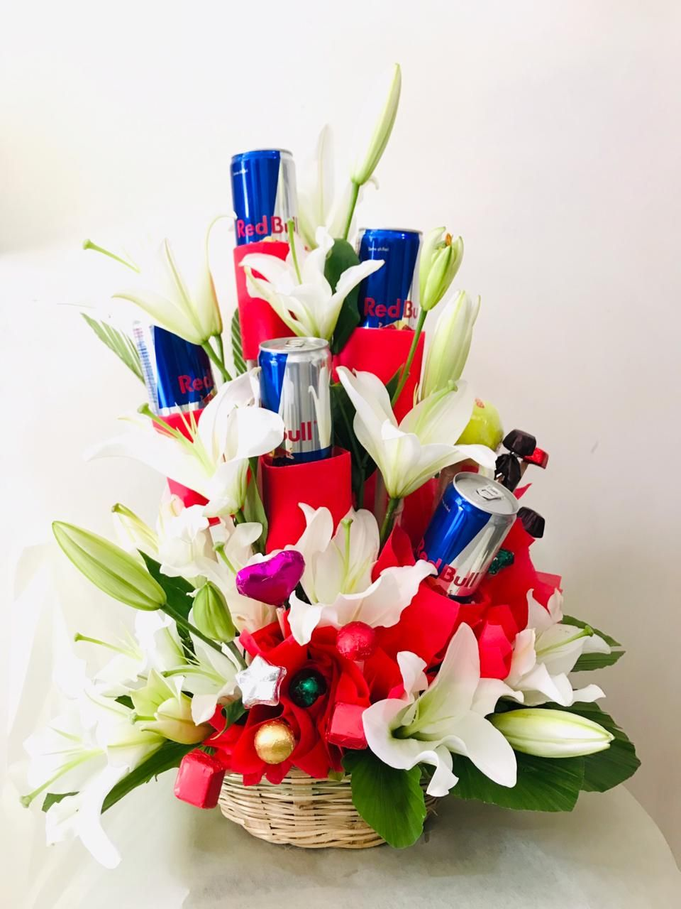 Have you ever seen more bouquet than this? This