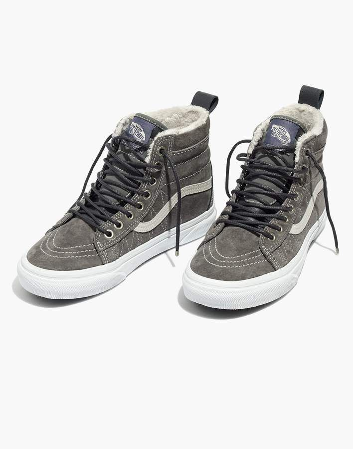 b98556e78e5f Madewell Vans Sk8-Hi MTE High-Top Sneakers in Suede