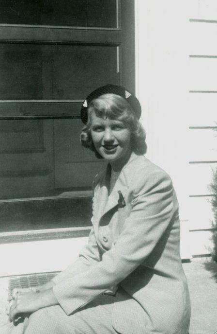 Sylvia Plath, early 1950s