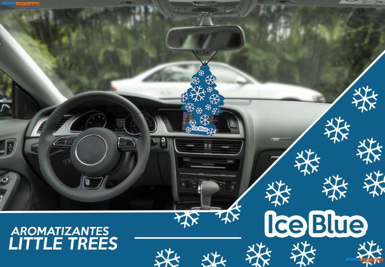 #Aromatizante #Little #Trees #Ice #Blue.  Seu #carro Muito mais #Agradável com os #Aromatizantes #Little #Trees.  Peças e Acessórios para seu carro -> MMParts.com.br