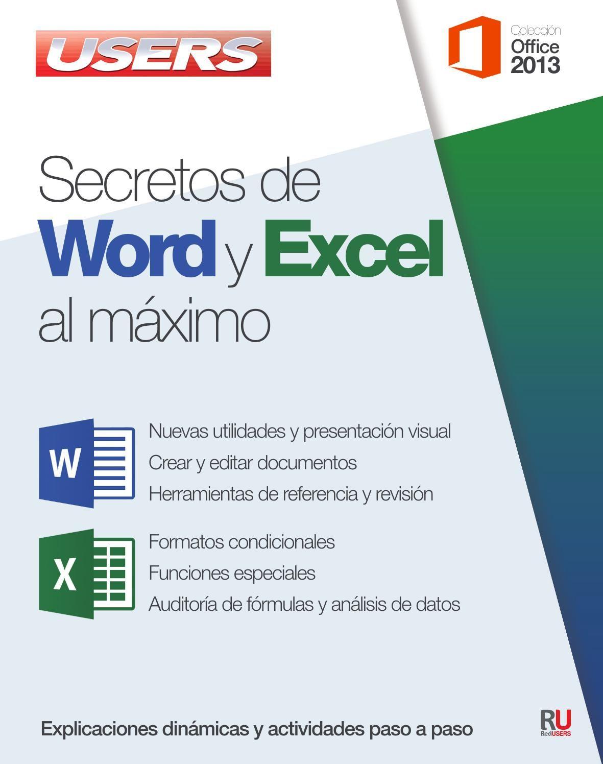 Secretos de word y excel al maximo | Informática, Tecnologia y ...