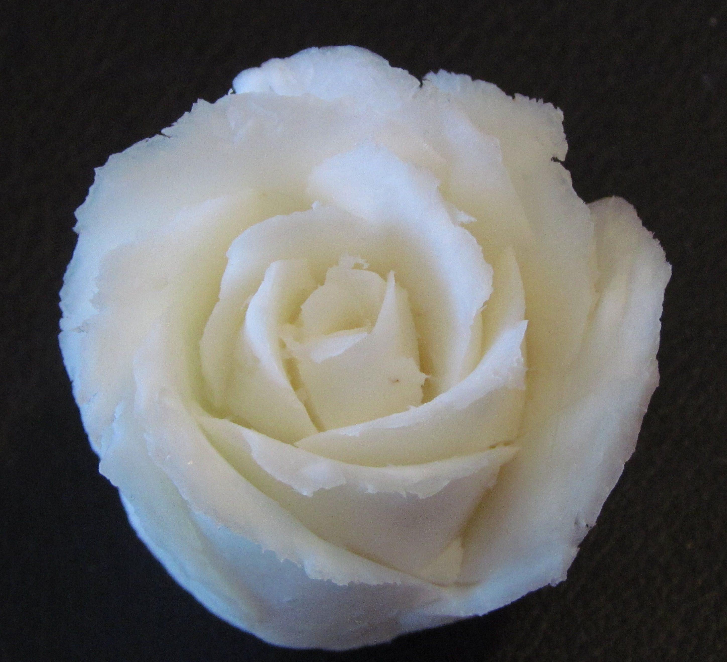 Cách tỉa hoa hồng từ xà phòngcarving soap roserose schnitzen aus