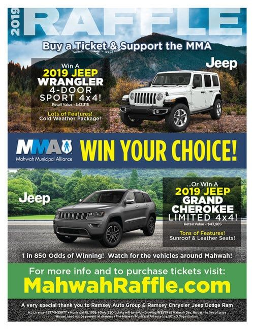 We Re Proudly Providing The Prizes For The Mma Raffle Once Again With Images Alliance Jeep Chrysler Jeep