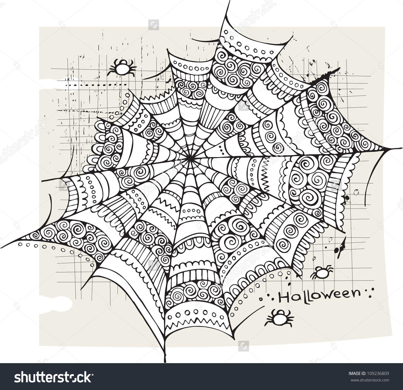 Halloween Spider Web Ideas