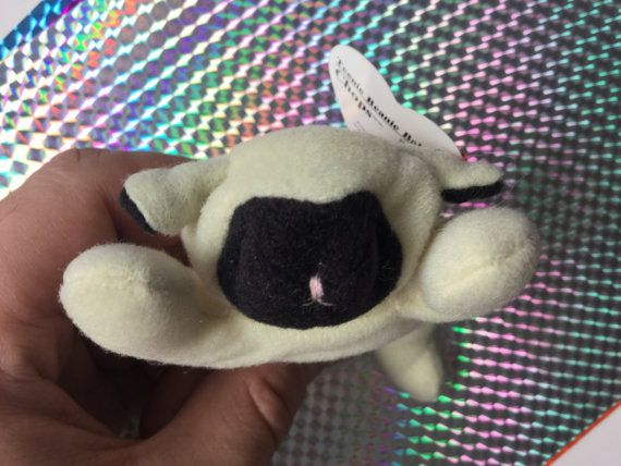 1996 Ty Teenie Beanie Baby Chops the Lamb by RetroPixelsAndToys ... 6c5f4e2c14c8