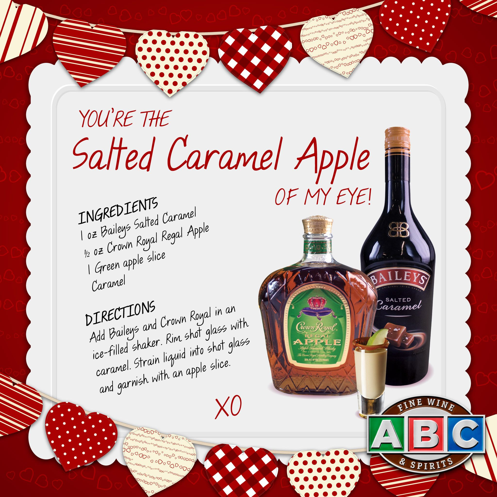 Baileys and crown are a perfect match in this salted caramel apple baileys and crown are a perfect match in this salted caramel apple recipe forumfinder Images