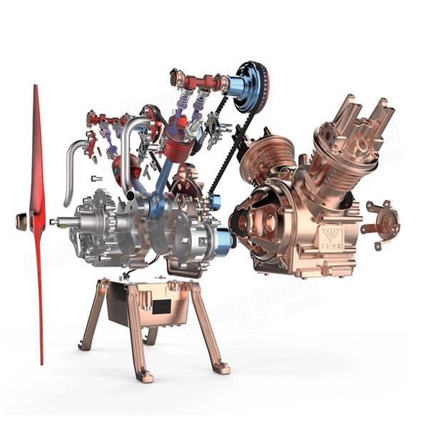 Teching 1:24 Vollaluminiumlegierung Motor Modellsammlung Verkauf - Banggood.com