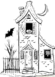 Image Result For Easy Haunted House Drawing Halloween Pinterest