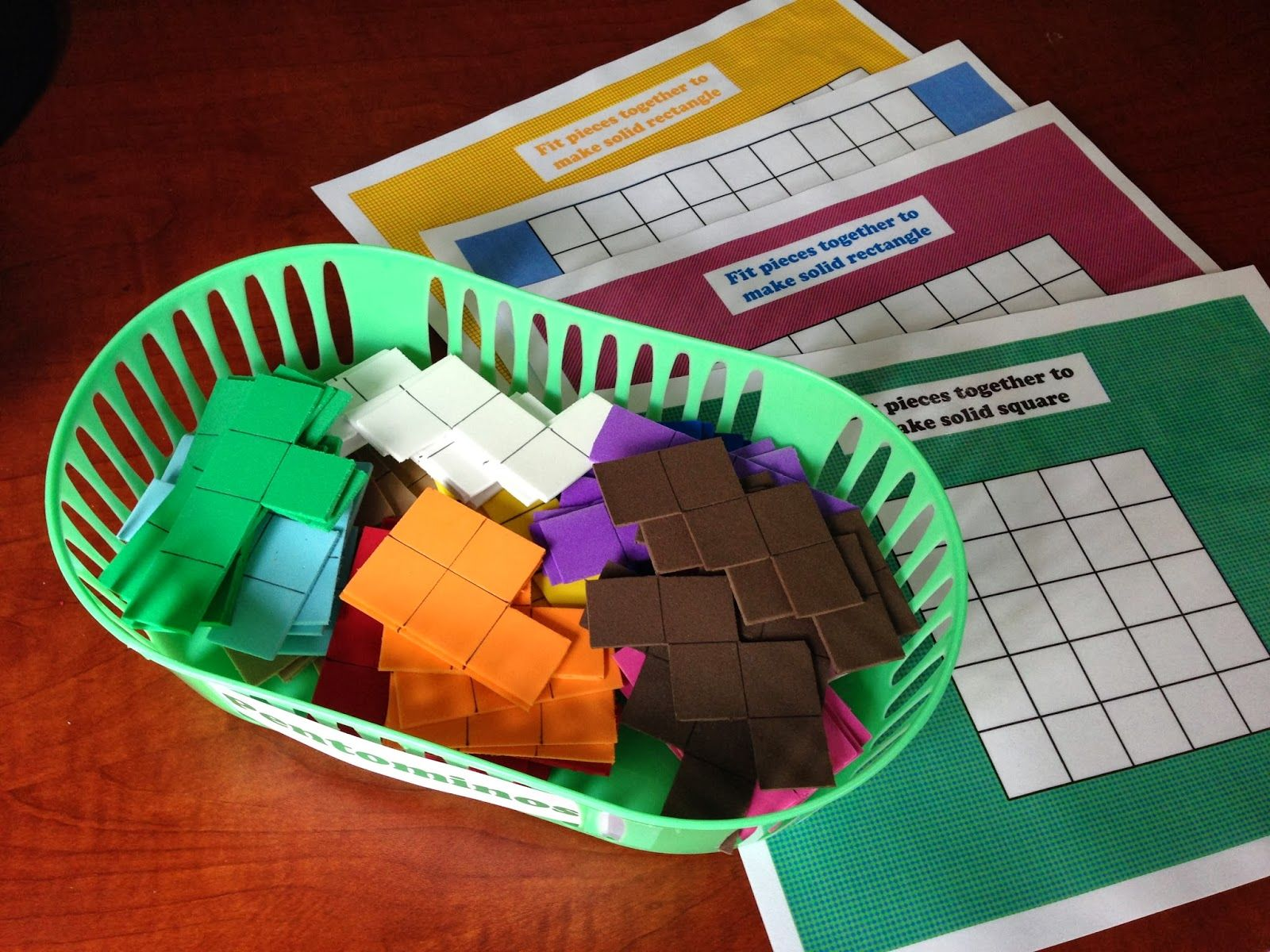 Pentominoes Free Printouts Early Learning With Marta Eaton And Nathaniel