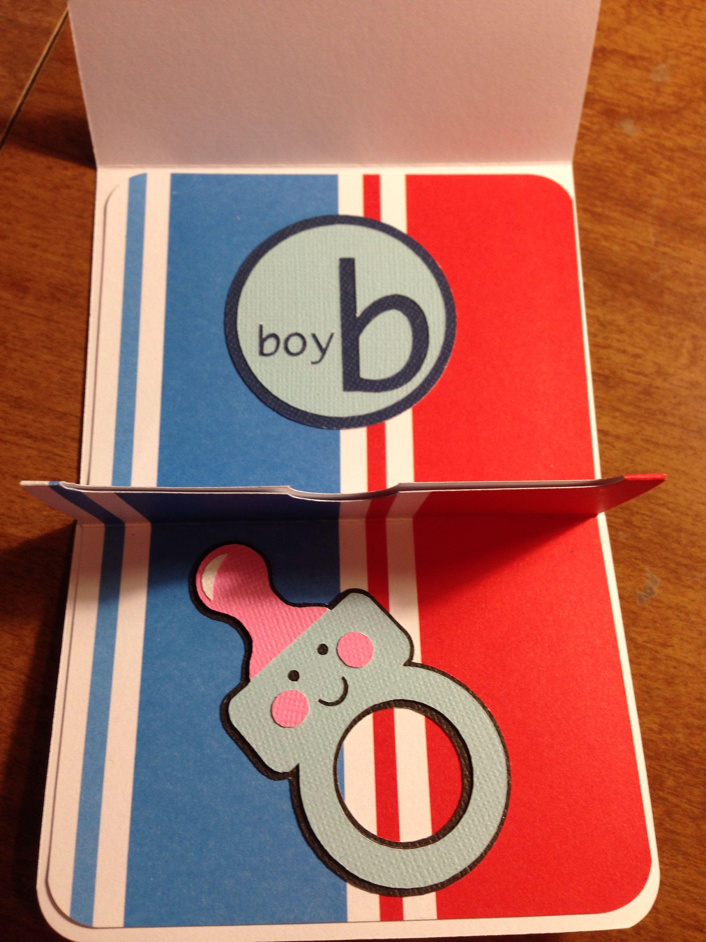 Cricut Baby Gift Card | Cricut baby, Baby gifts, Cards