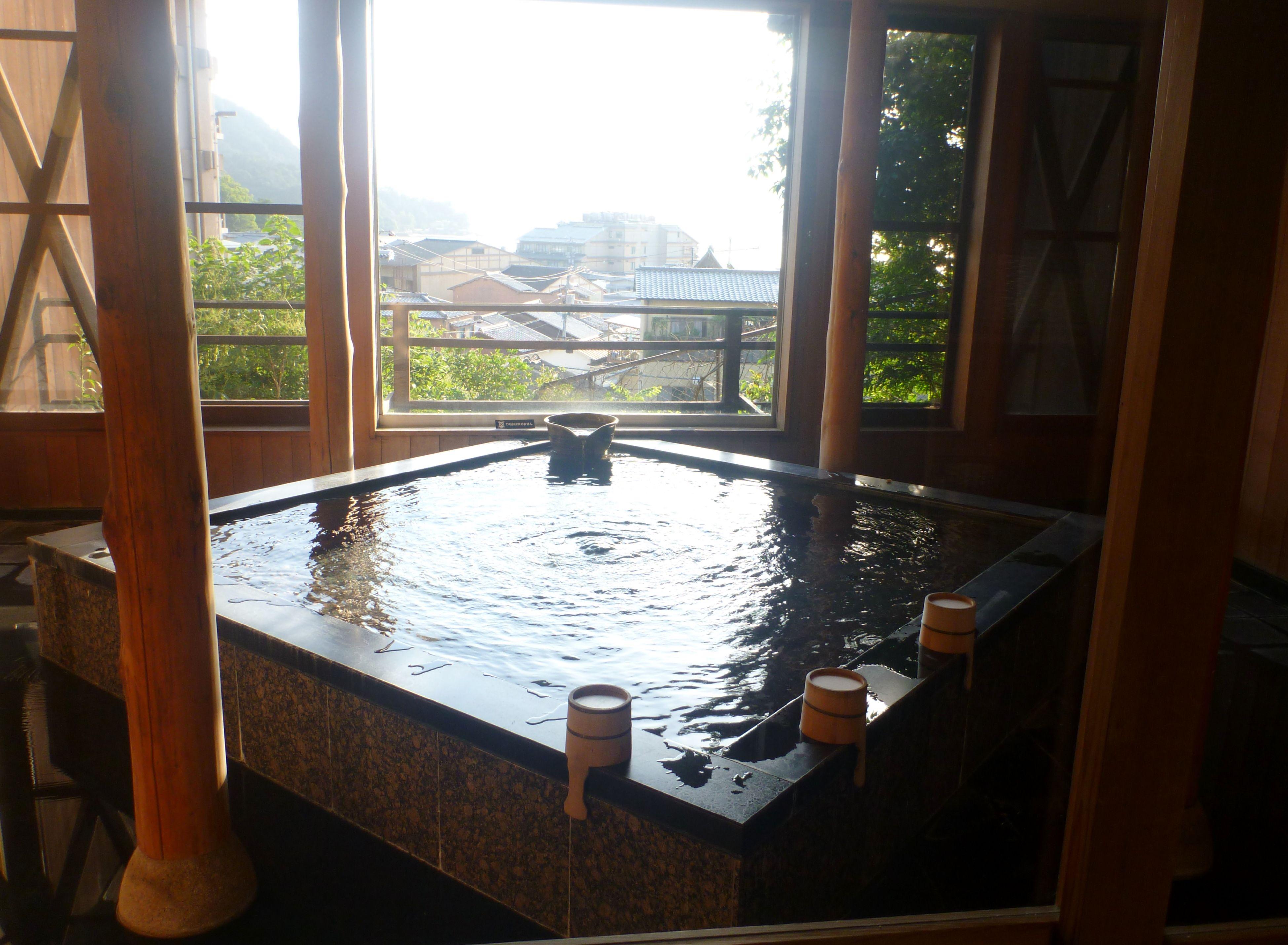 Modern Japan Bath Nice View