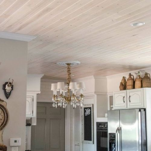 Inexpensive Plank Ceiling White: 7 Inexpensive Ways To Save Yourself From Ugly Popcorn