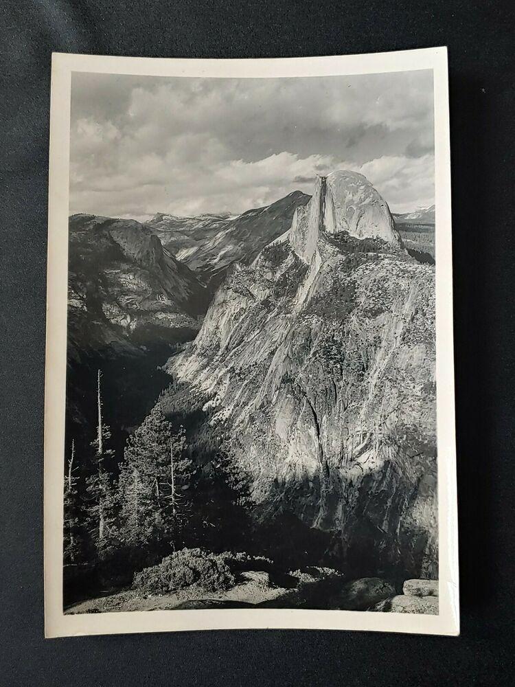 Ansel Adams 1940s 5x7 Yosemite Souvenir Photograph Best S Studio Print In 2020 Ansel Adams Yosemite Photographer
