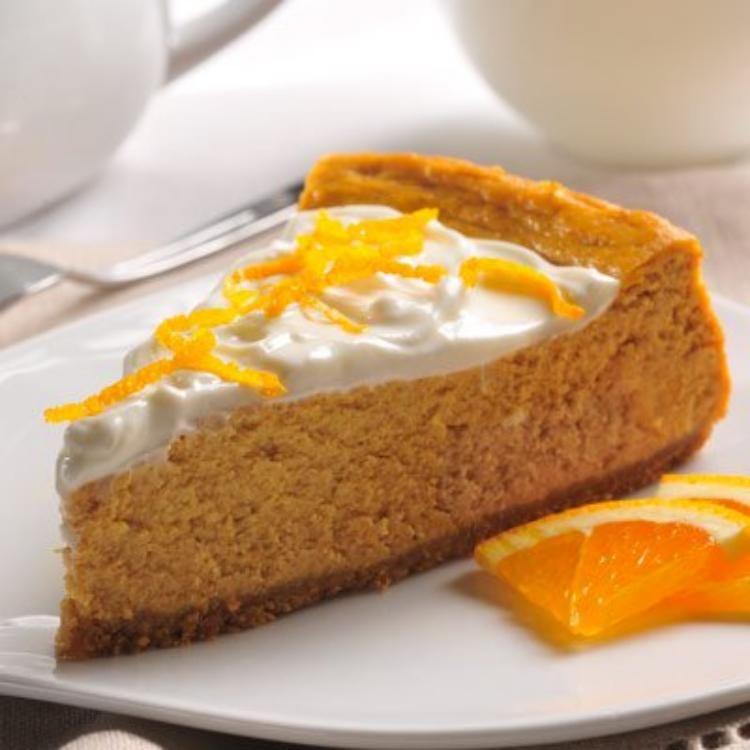 Pumpkin Cheesecake | Libby's Pumpkin Orange Cheese