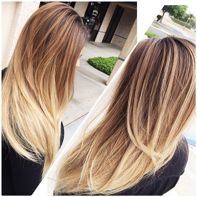 Gorgeous Long Ombre Hair Hair And Makeup Ombre Hair