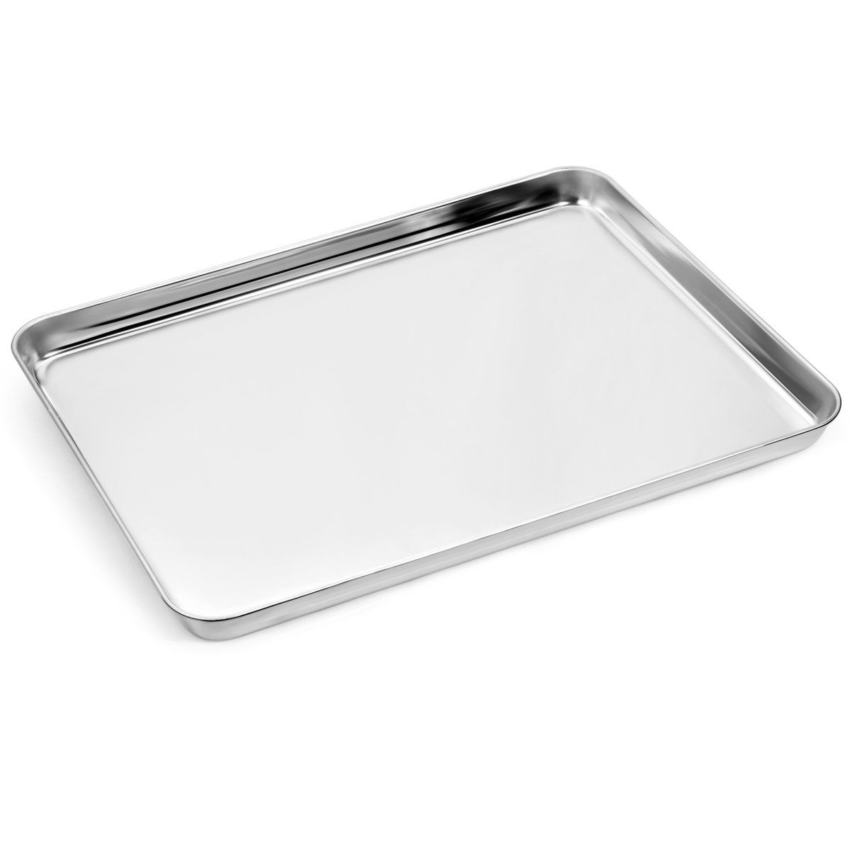 Baking Sheets And Rack Set Zacfton Cookie Pan With Nonstick