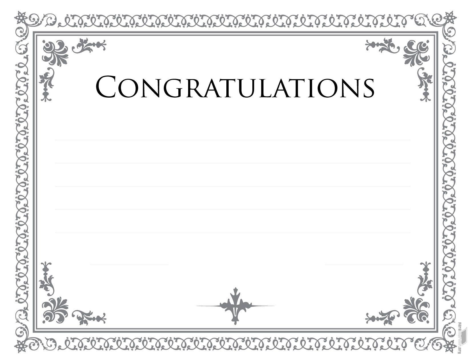 Diploma de congratulations para imprimir | otro borde | Pinterest