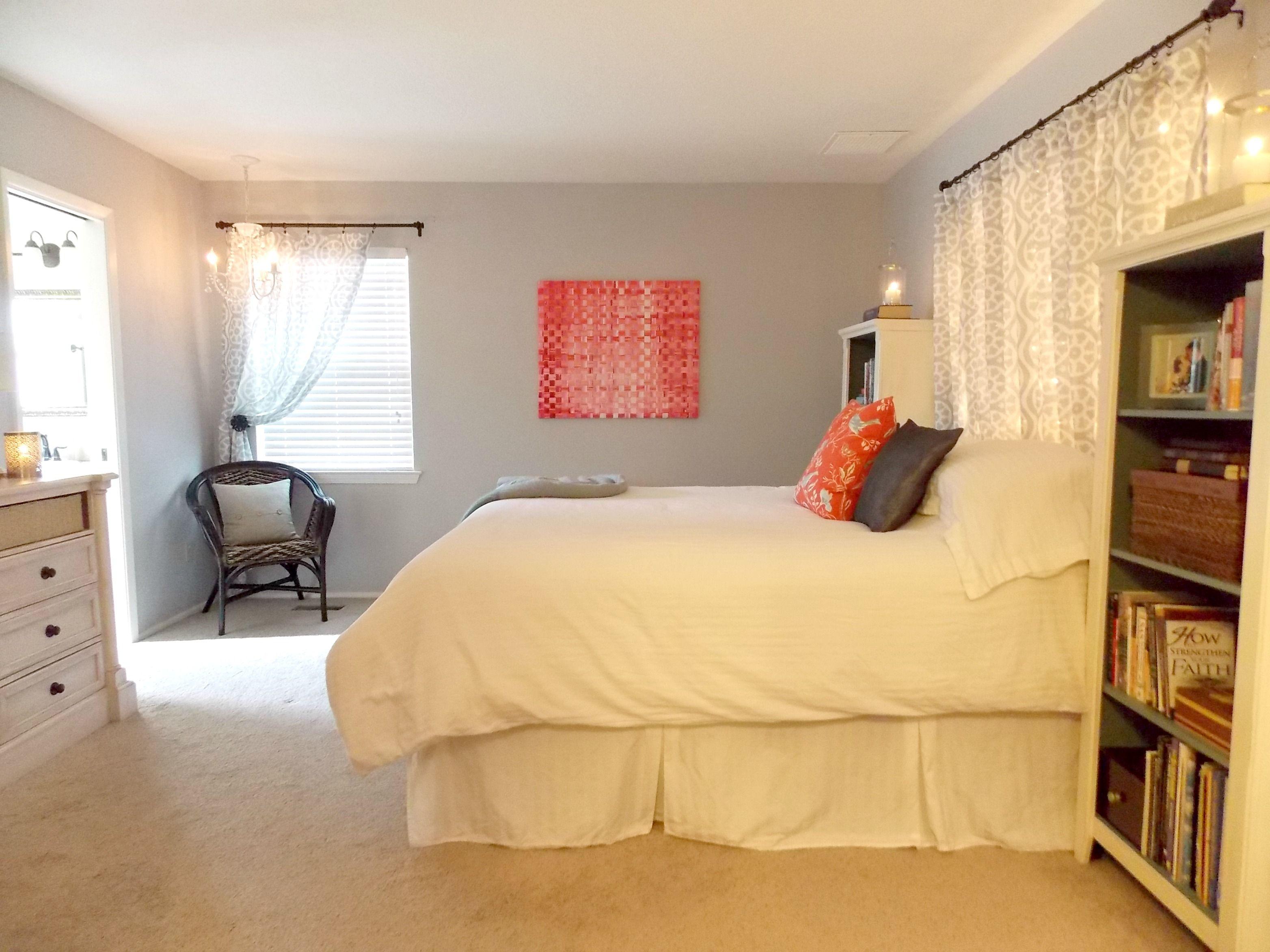 Master Bedroom Makeover on a Budget | Master bedroom ...