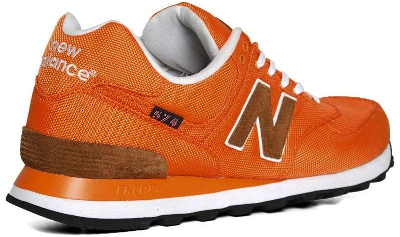 new balance model 574 orange