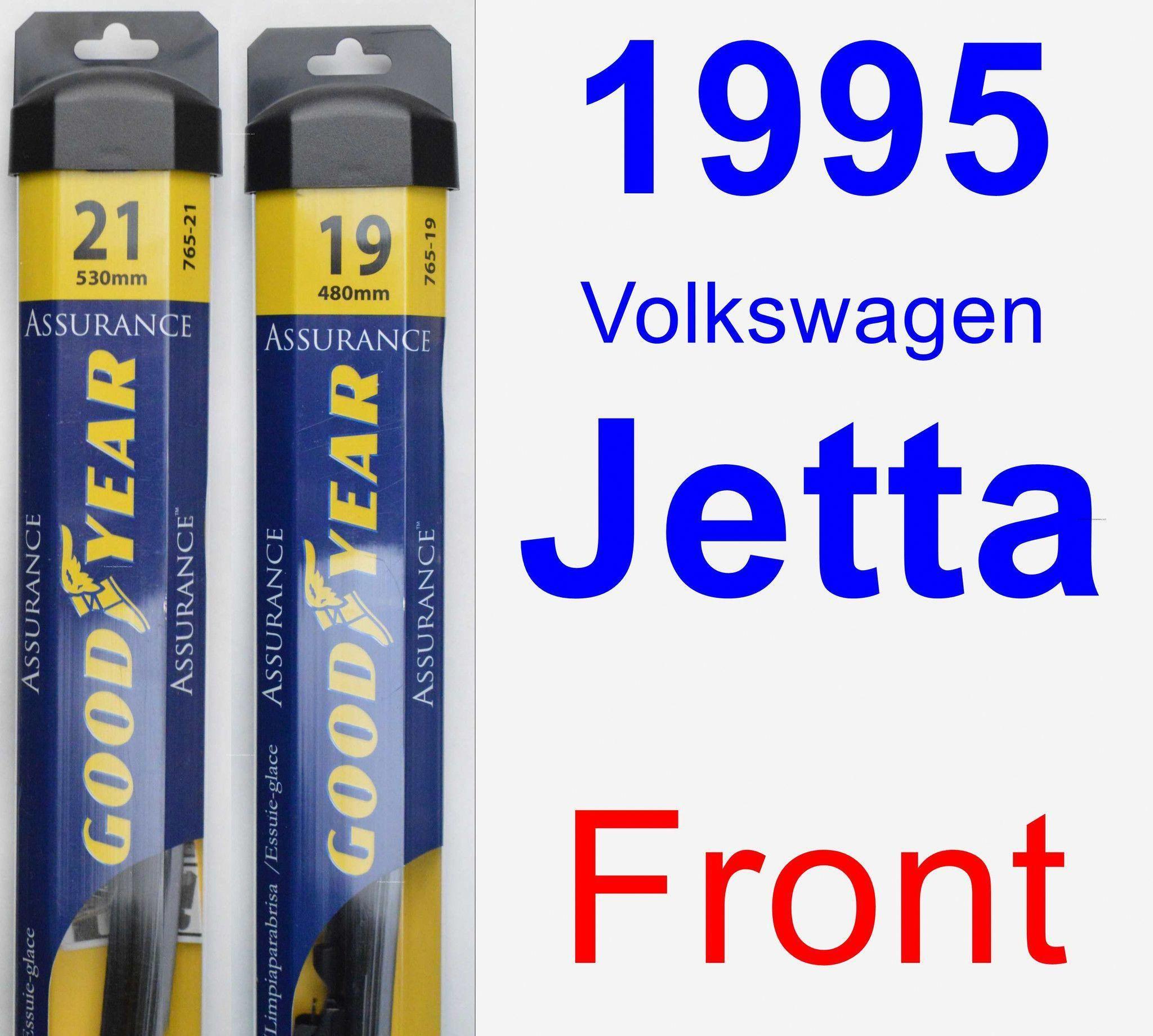 Front Wiper Blade Pack For 1995 Volkswagen Jetta Assurance Wiper Blades Car Windshield Wipers Subaru