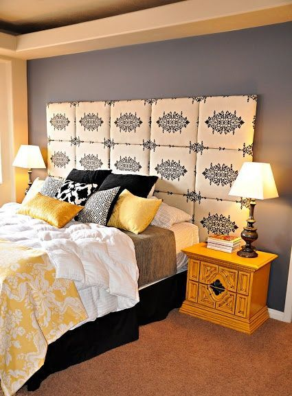 Yellow & Black & Grey & White: Bright but not too airy. The black ...
