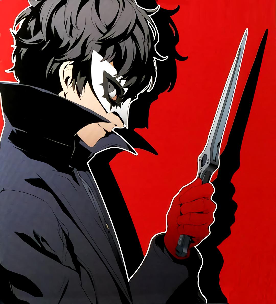 Tumblr Ok04bp9oio1si48w3o1 R1 1280 Png 1080 1188 Persona 5 Joker Akira Kurusu Persona 5