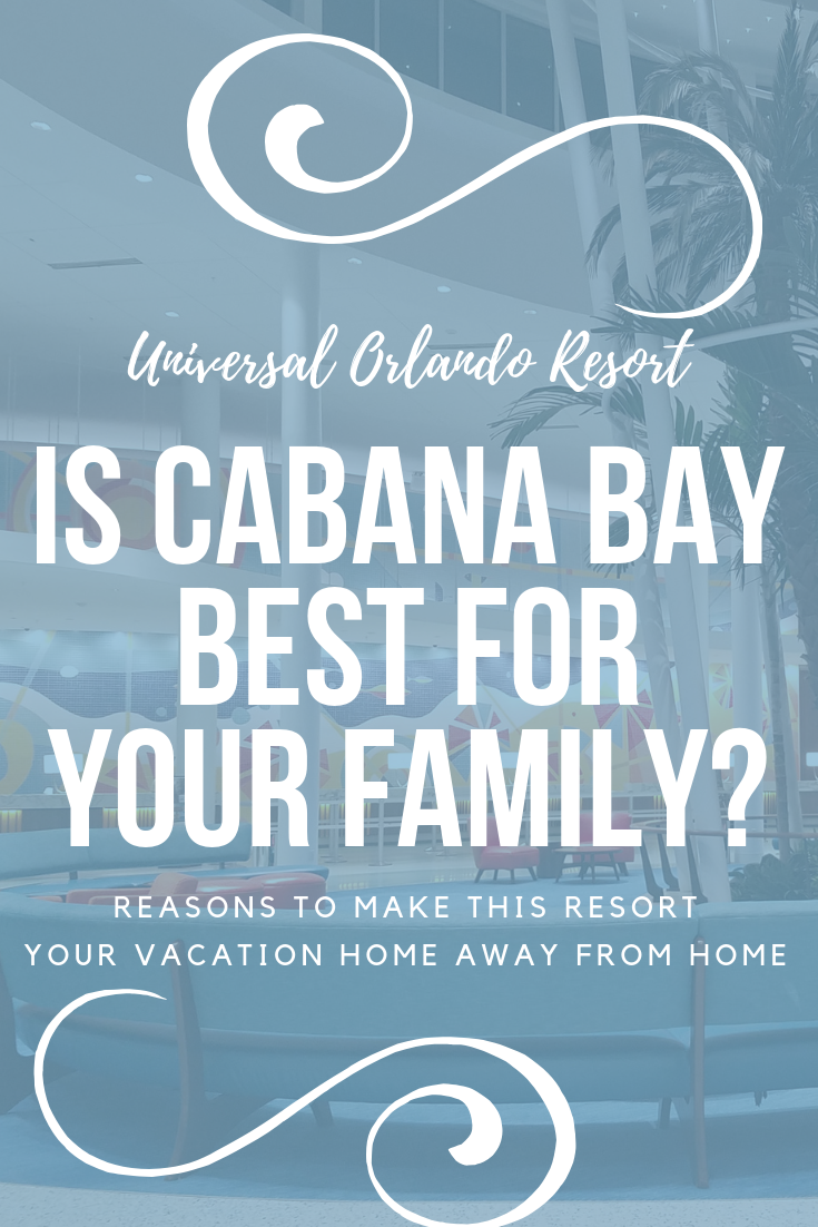 Down By The Cabana Bay Beach Resort With 3d Travel Florida