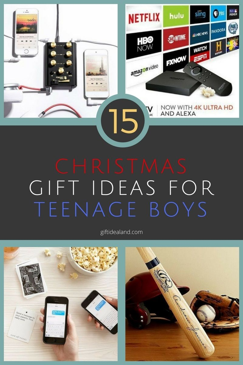 15 Best Christmas Gifts For Teenage Boys Guys Teenagers Birthday
