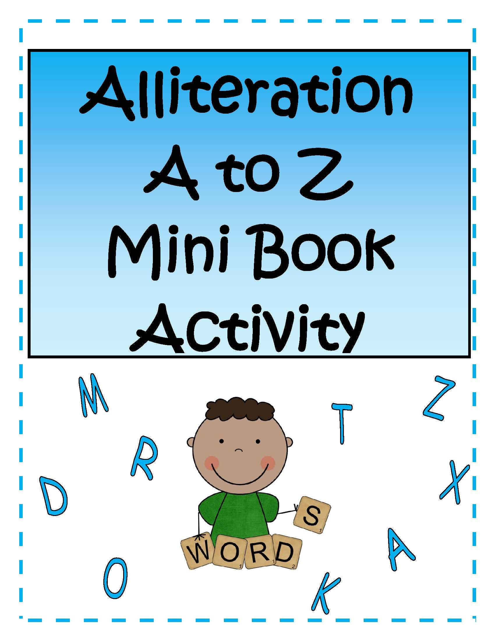 Publishers :: Tech Girl :: Alliteration A to Z Mini Booklet ...