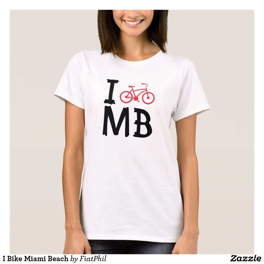 I bike miami beach tshirt tattoo t shirts