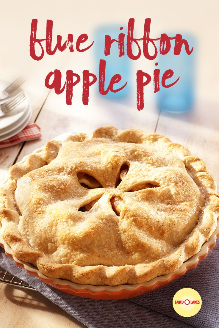 Blue Ribbon Apple Pie You'll really wow 'em with t