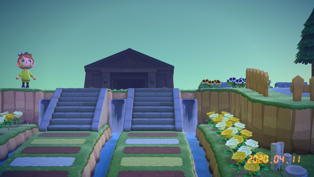 あつ 森 階段