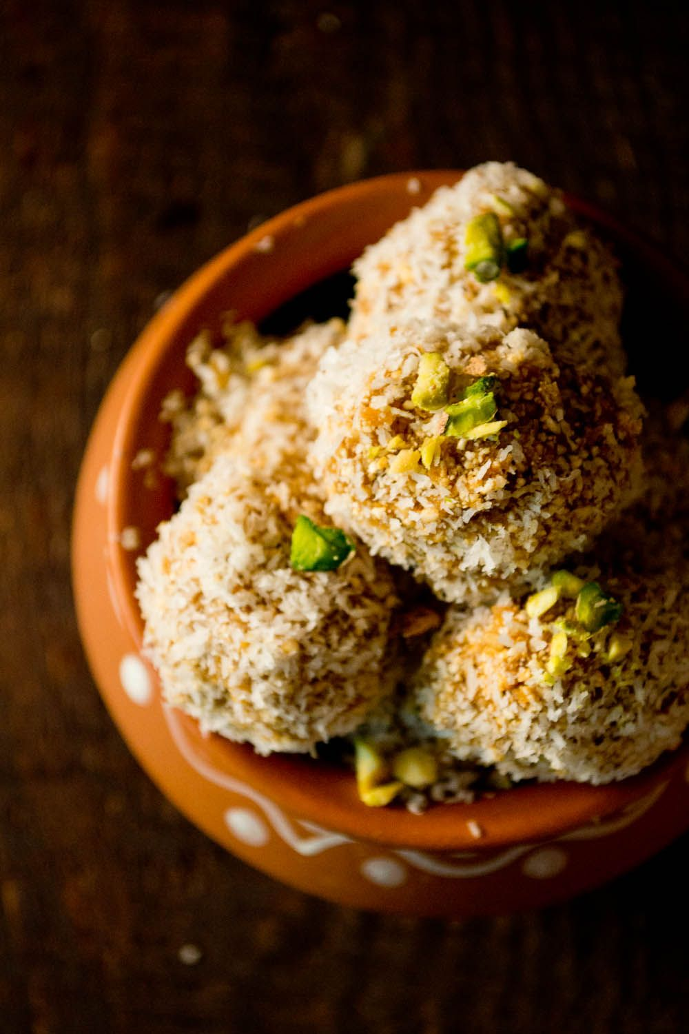 """Vegetarian Tastebuds: Guest Post~Sweet & Healthy Ground Rice Balls """"Aggala"""" From Farwin Of Love And Other Spices"""