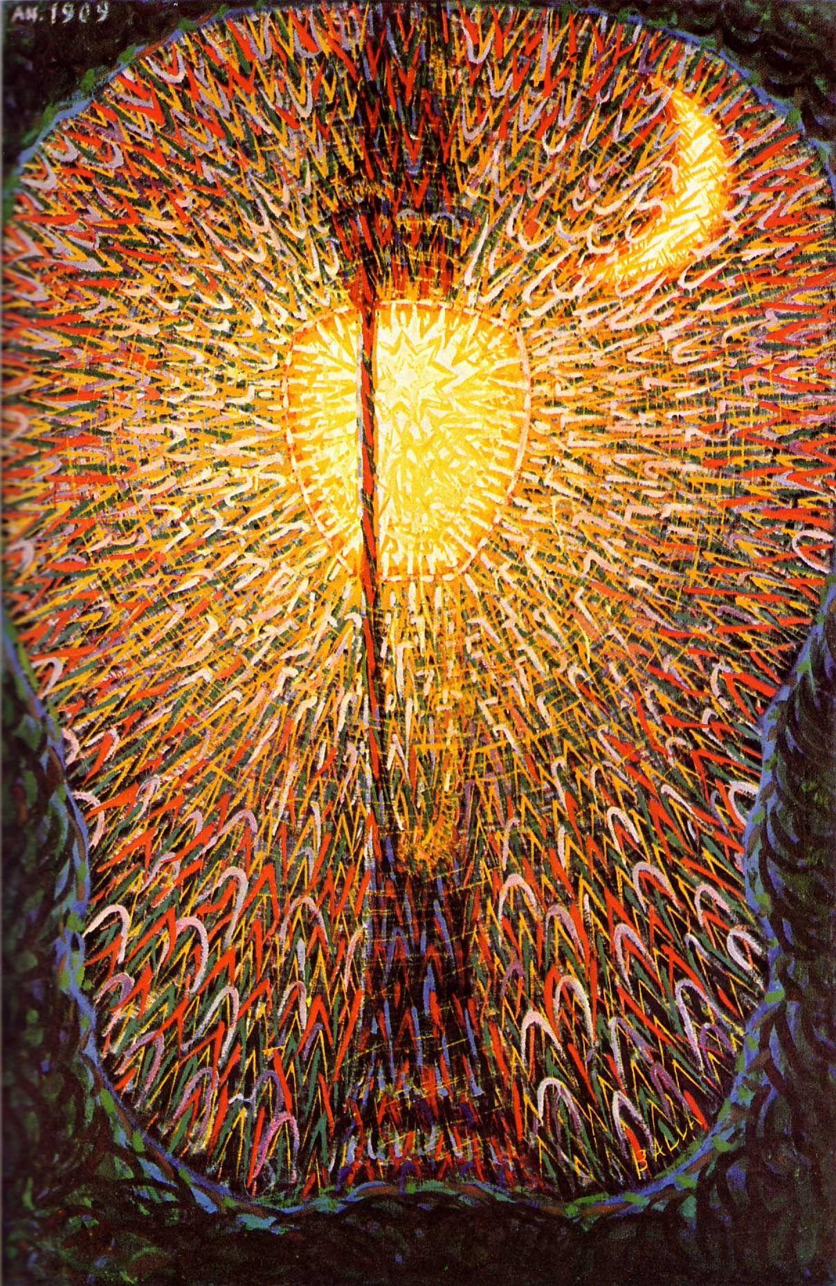 Giacomo Balla - Lampada ad arco - 1909 - Museum of Modern Art - NY ...