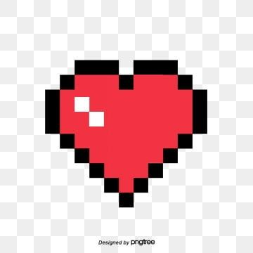 Pixel Love Png Image And Clipart Love Png Pixel Art Graphic Design Packaging