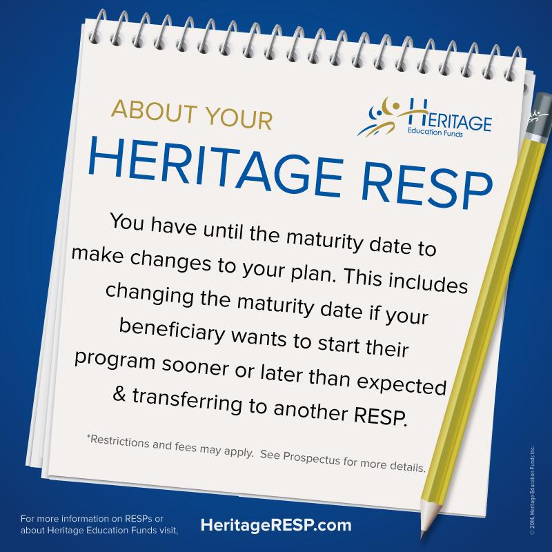 Heritage resp maturity application