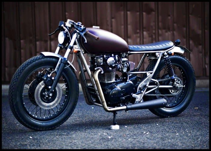 Yamaha XS 650:: Clutch Customs Motorcycles.   8negro