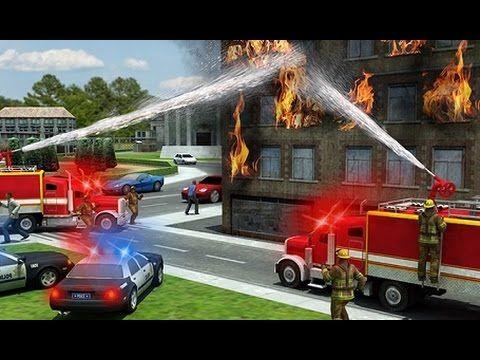 juego simulador de carros de bomberos para nios videos y juegos para