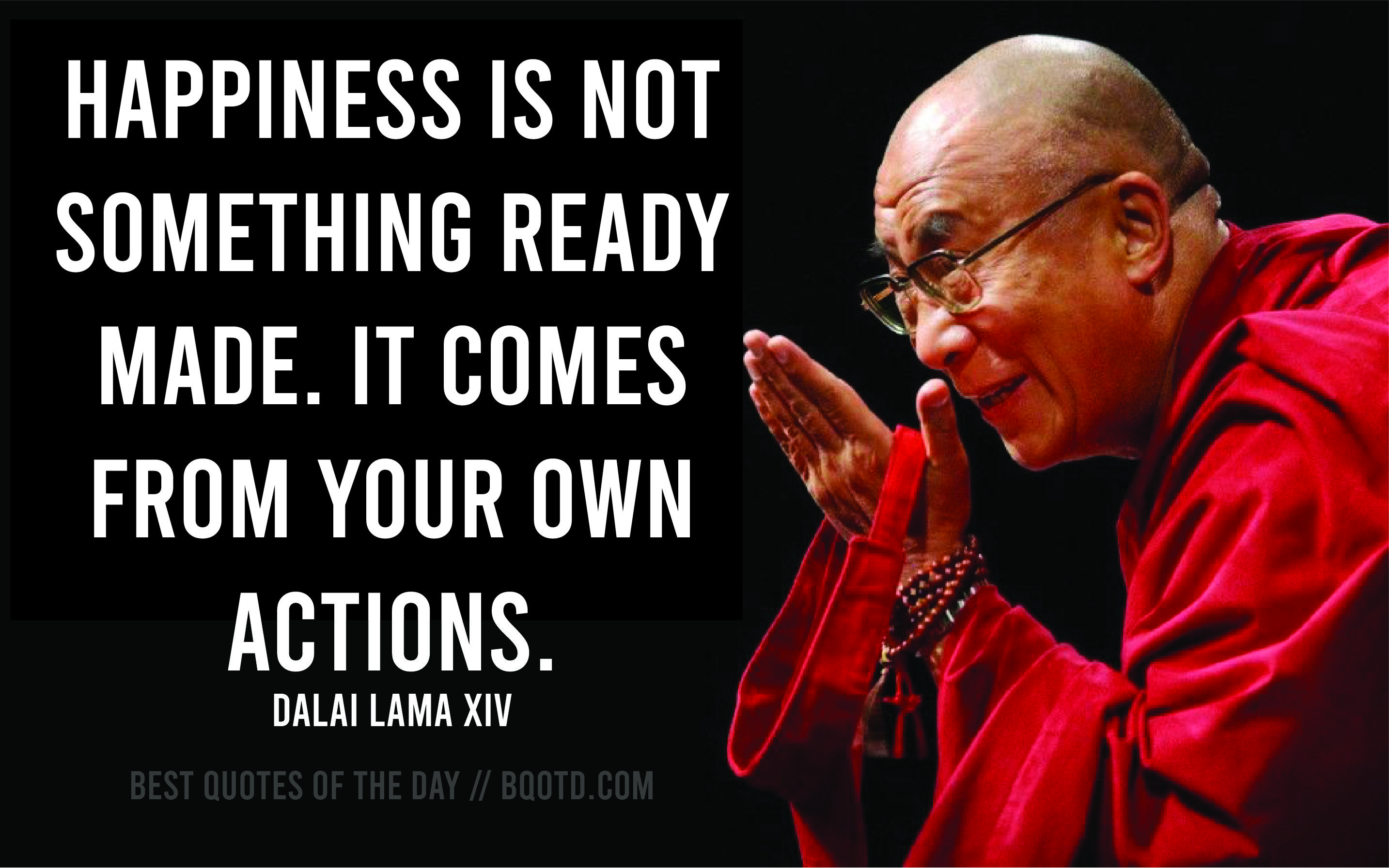 Dalai Lama Quote For The Day