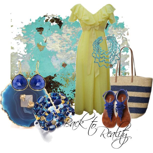 """""""Back to Reality 2"""" by moodycat on Polyvore"""